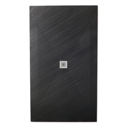 Galassia Piana Brodzik prostokątny 180x90x3cm, czarny 1181NE