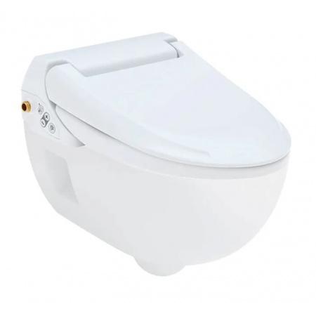 Geberit AquaClean 4000 Toaleta WC myjąca 50,5x40 cm bez kołnierza z deską wolnoopadającą biała 146.135.11.1