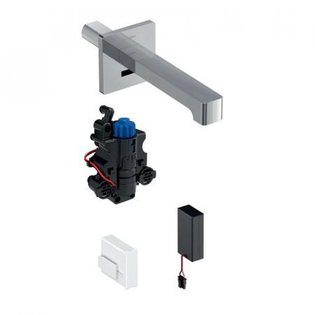 Geberit Brenta Bateria umywalkowa bezdotykowa podtynkowa termostatyczna chrom połysk 116.278.21.1