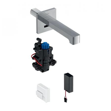 Geberit Brenta Bateria umywalkowa bezdotykowa podtynkowa termostatyczna chrom połysk 116.298.21.1