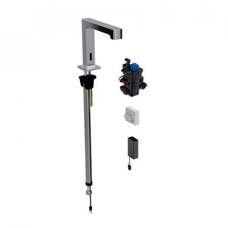 Geberit Brenta Bateria umywalkowa bezdotykowa termostatyczna chrom połysk 116.198.21.1