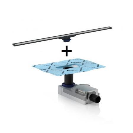 Geberit CleanLine20 Kompletny odpływ liniowy 90 cm 154.450.KS.1+154.152.00.1