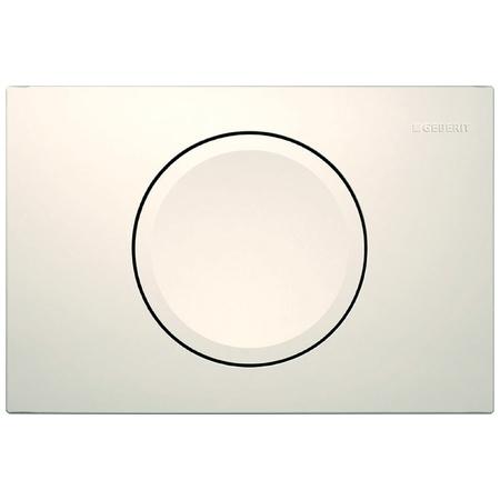 Geberit Delta11 Przycisk spłukujący do WC, biały 115.120.11.1