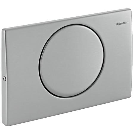 Geberit Delta15 Przycisk spłukujący do WC, stal nierdzewna szczotkowana 115.101.00.1