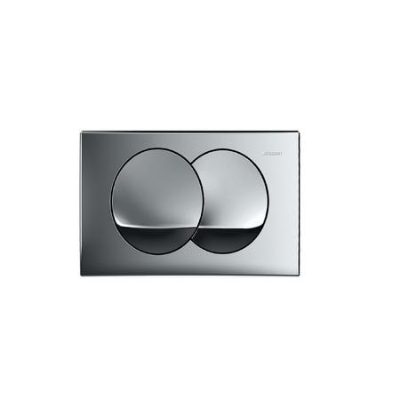 Geberit Delta20 Przycisk spłukujący do WC UP100, chrom błyszczący 115.100.21.1