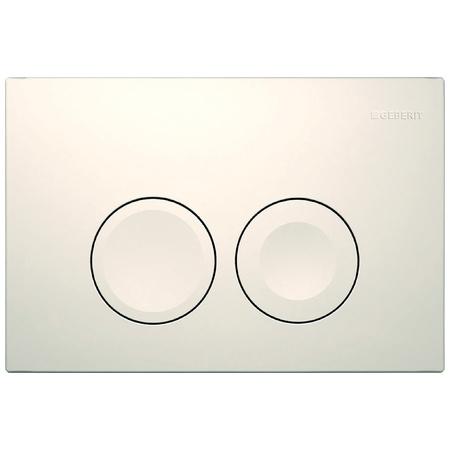 Geberit Delta21 Przycisk spłukujący do WC UP100, biały 115.125.11.1