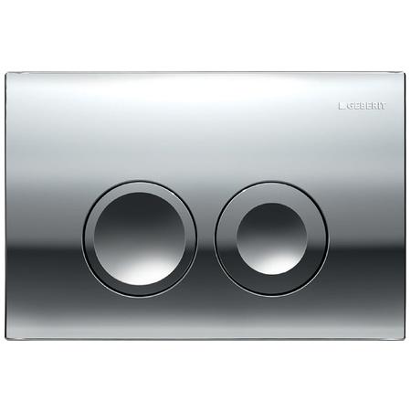 Geberit Delta21 Przycisk spłukujący do WC UP100, chrom błyszczący 115.125.21.1