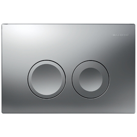 Geberit Delta21 Przycisk spłukujący do WC UP100, chrom mat 115.125.46.1