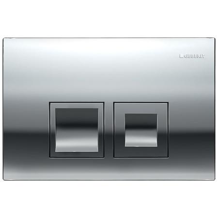 Geberit Delta50 Przycisk spłukujący do WC UP100, chrom błyszczący 115.135.21.1