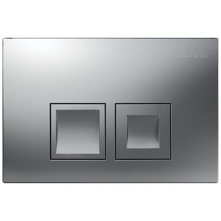 Geberit Delta50 Przycisk spłukujący do WC UP100, chrom mat 115.135.46.1