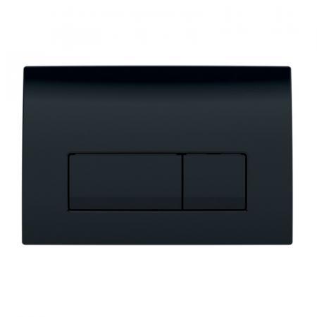 Geberit Delta51 Przycisk spłukujący czarny RAL 9005 115.105.DW.1