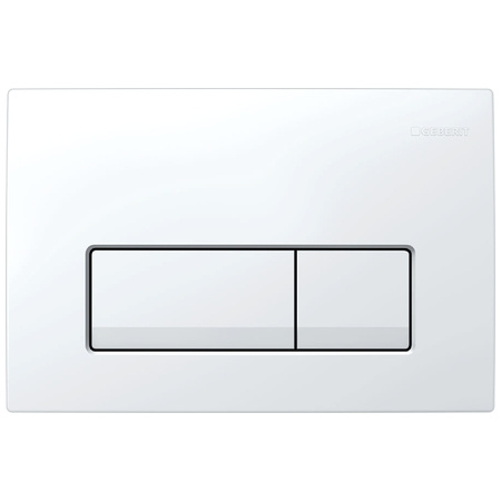 Geberit Delta51 Przycisk spłukujący do WC, biały 115.105.11.1