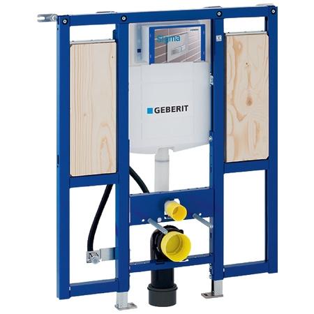 Geberit Duofix Stelaż podtynkowy do WC H112 UP320 Sigma dla niepełnosprawnych, 111.375.00.5