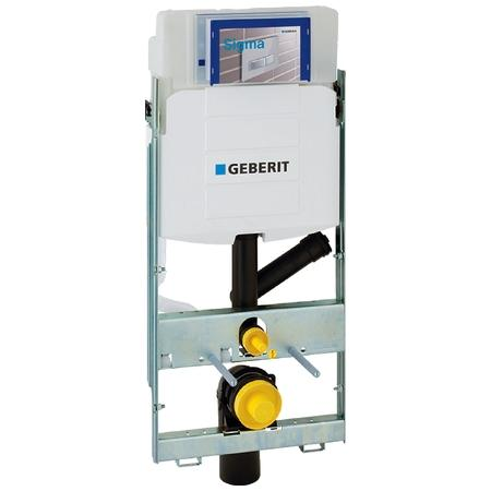 Geberit GIS Stelaż podtynkowy do WC H114 z odciągiem bocznym UP320 Sigma 461.315.00.5