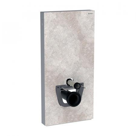 Geberit Monolith Plus Moduł sanitarny do WC wiszącej kamionka efekt betonu/aluminium 131.221.JV.5
