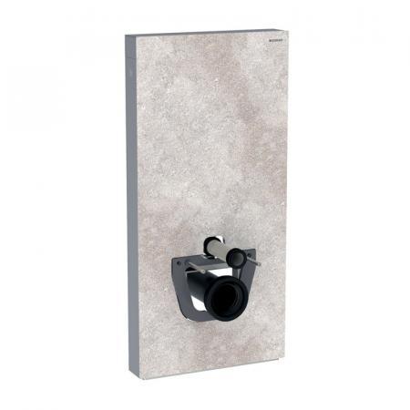 Geberit Monolith Plus Moduł sanitarny do WC wiszącej kamionka efekt betonu/aluminium 131.222.JV.5