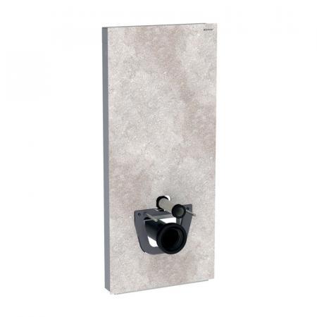 Geberit Monolith Plus Moduł sanitarny do WC wiszącej kamionka efekt betonu/aluminium 131.231.JV.5