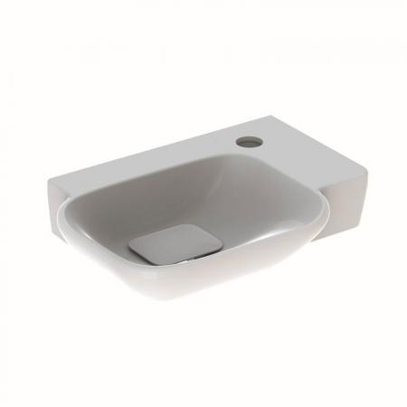 Geberit MyDay Umywalka wisząca mała 40x28 cm z powłoką KeraTect, biała 125540600