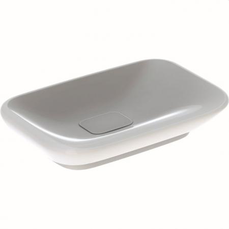 Geberit MyDay Umywalka wpuszczana w blat lub meblowa 60x40 cm z powłoką KeraTect, biała 245460600