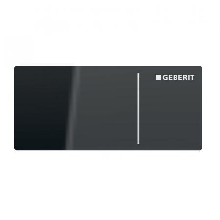Geberit Omega Przycisk spłukujący bezdotykowy szklany lava 115.083.JK.1
