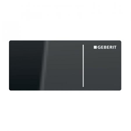 Geberit Omega Przycisk spłukujący bezdotykowy szklany lava 115.084.JK.1