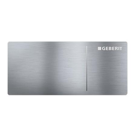 Geberit Omega70 Przycisk spłukujący do WC typ 70 zdalny meblowy, stal nierdzewna szczotkowana 115.083.FW.1