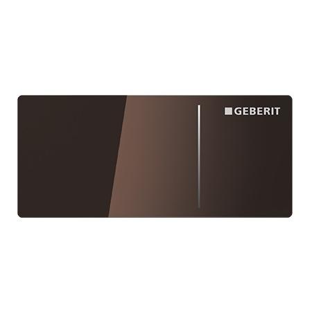 Geberit Omega70 Przycisk spłukujący do WC typ 70 zdalny meblowy, szkło umbra 115.083.SQ.1