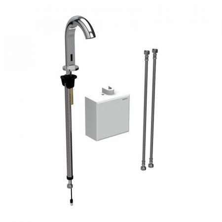 Geberit Piave Bateria umywalkowa bezdotykowa termostatyczna chrom połysk 116.168.21.1