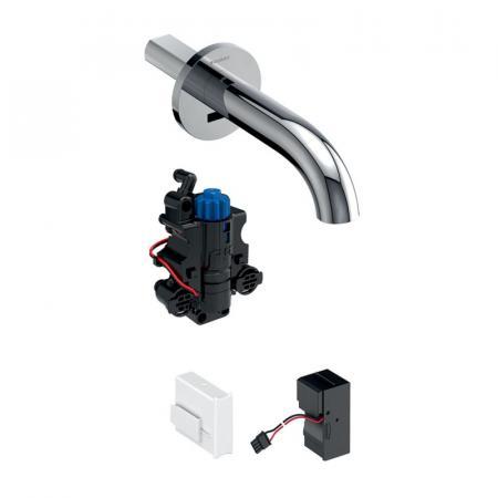 Geberit Piave Bateria umywalkowa podtynkowa termostatyczna bezdotykowa chrom połysk 116.287.21.1