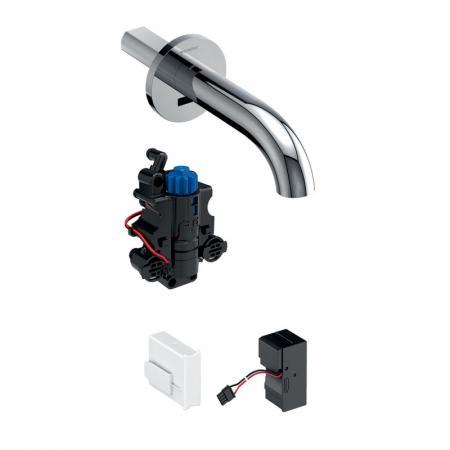 Geberit Piave Bateria umywalkowa podtynkowa bezdotykowa termostatyczna chrom połysk 116.267.21.1