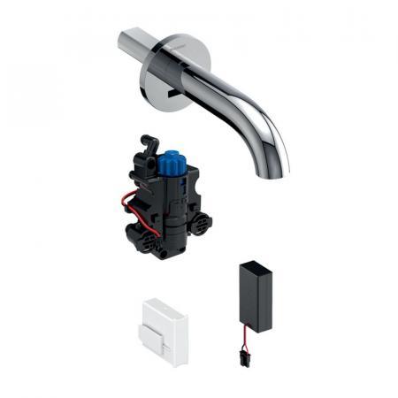 Geberit Piave Bateria umywalkowa podtynkowa bezdotykowa termostatyczna chrom połysk 116.268.21.1