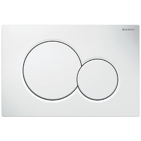 Geberit Sigma01 Przycisk spłukujący do WC UP320, biały 115.770.11.5