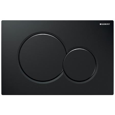 Geberit Sigma01 Przycisk spłukujący do WC UP320, czarny RAL 9005 115.770.DW.5