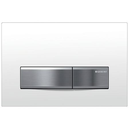 Geberit Sigma50 Przycisk spłukujący do WC, biały 115.788.11.5