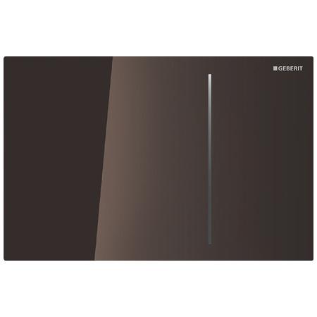 Geberit Sigma70 Przycisk spłukujący do WC, szkło umbra 115.620.SQ.1