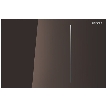 Geberit Sigma70 Przycisk spłukujący do WC, szkło umbra 115.625.SQ.1