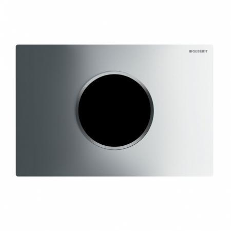 Geberit Sigma10 Elektroniczny przycisk spłukujący z zasilaniem sieciowym chrom błyszczący/chrom matowy 115.907.KH.1