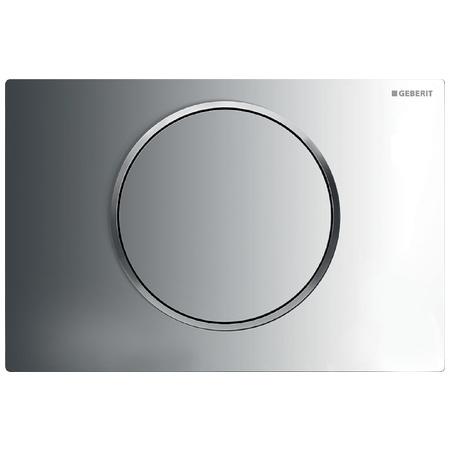 Geberit Sigma10 Przycisk spłukujący do WC UP320, chrom błyszczący/chrom mat 115.758.KH.5