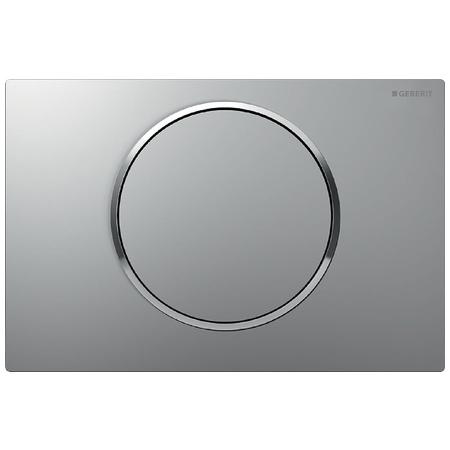Geberit Sigma10 Przycisk spłukujący do WC UP320, chrom mat/chrom błyszczący 115.758.KN.5
