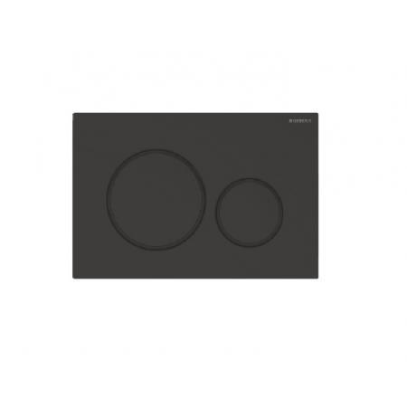 Geberit Sigma20 Przycisk spłukujący czarny mat 115.882.16.1