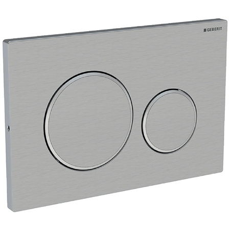 Geberit Sigma20 Przycisk spłukujący do WC, stal nierdzewna 115.889.SN.1