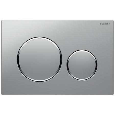Geberit Sigma20 Przycisk spłukujący do WC UP320, chrom mat/chrom błyszczący 115.882.KN.1