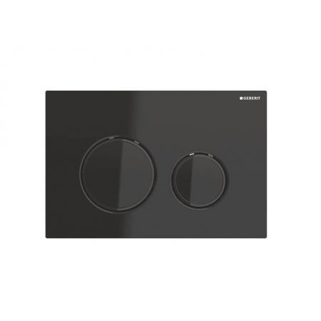 Geberit Sigma21 Przycisk spłukujący czarny/czarny chrom 115.651.SJ.1
