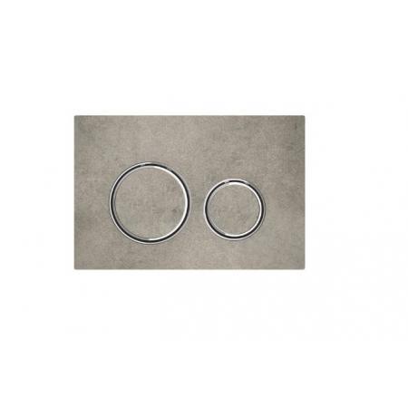 Geberit Sigma21 Przycisk spłukujący imitacja betonu/chrom 115.884.JV.1