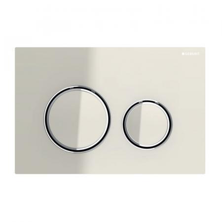 Geberit Sigma21 Przycisk spłukujący WC szary piaskowy/chrom 115.884.JL.1