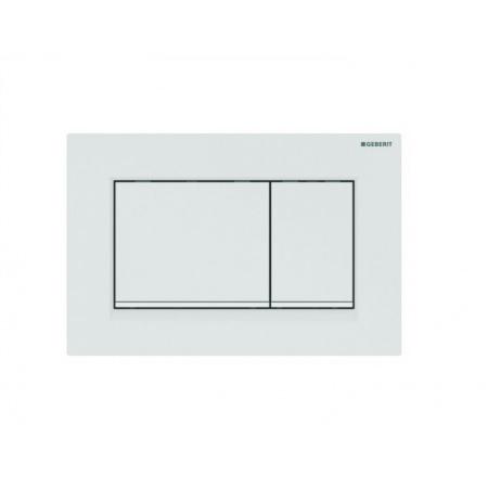 Geberit Sigma30 Przycisk spłukujący biały mat 115.883.01.1