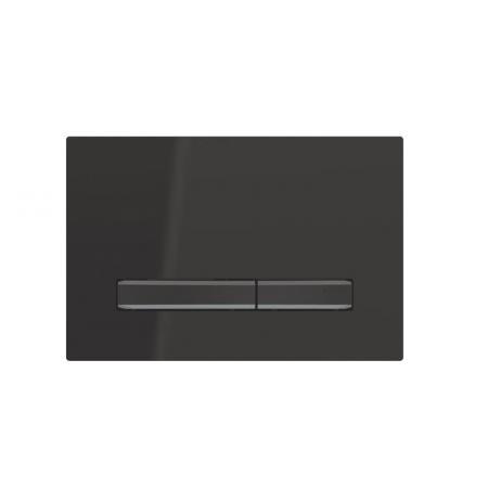Geberit Sigma50 Przycisk spłukujący czarny/czarny chrom 115.671.DW.2