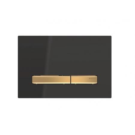 Geberit Sigma50 Przycisk spłukujący czarny/mosiądz 115.672.DW.2