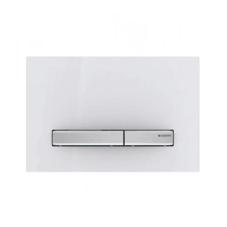 Geberit Sigma50 Przycisk spłukujący do WC chrom/biały 115.788.11.2