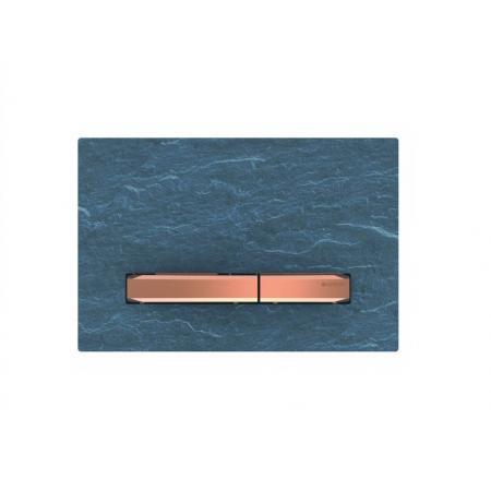 Geberit Sigma50 Przycisk spłukujący łupek Mustang/czerwone złoto 115.670.JM.2